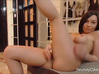 Watch me rub and finger my pussy