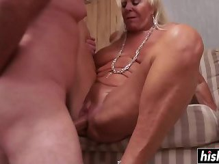 Mandi McGraw loves being drilled hard