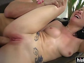 Tattooed beauty sucked and got fucked