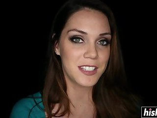 Alison Tyler enjoys herself while shooting