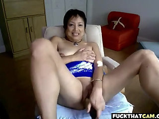 This Asian granny is a horny slut