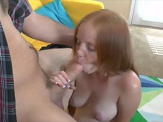 Pregnant Alyssa Hart brother`s friend blowjob