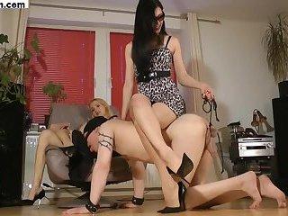 Goddess Foot slave