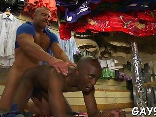 Gay sucks two big rods