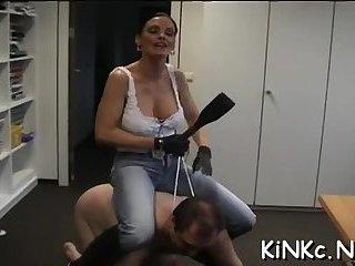 Sluts love femdom sex action