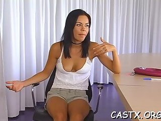 Busty babe with shaved pussy gets roughly tortured and fucked  1760537