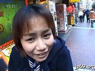Hot public flashing on cam
