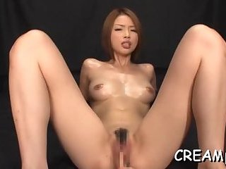 Creamy mess in her cunt