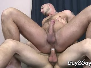 Steamy gay anal