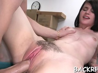 Stripping off at a casting