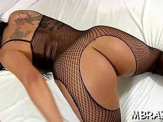 Anal penetration in Brazilian butt