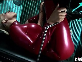 Kinky sluts enjoy his raging boner