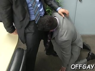 Strong anal at the office