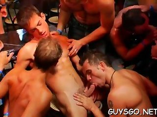 Amazing sloppy gay blowjobs