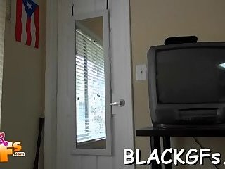 Black pussy gets fingered