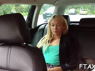 Fake taxi and passionate sex