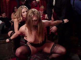 BDSM Halloween Orgy