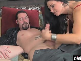 India and Misty suck some dick
