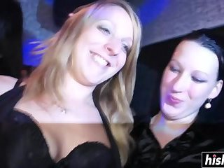 Thumb Horny girls eating cocks and riding