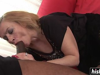 Marcela likes a big black cock