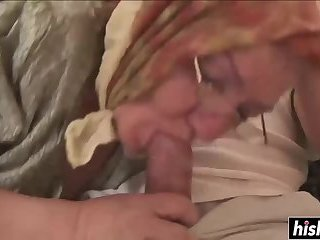 Granny is hungry for some dick