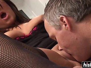 Amazing slut loves a hard dick