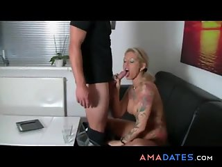 Big tits german amateur milf homemade