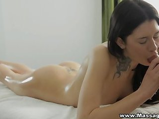 Massage-X - Erika Bellucci - New masseur and a happy ending