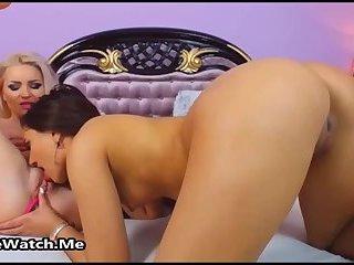 Hot Lesbian Pussy Licking Fantasy