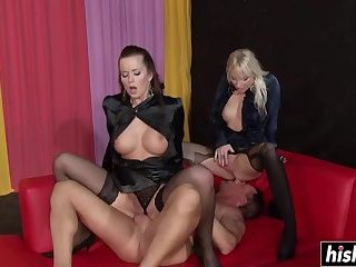 Desirable babes like to get rammed hard