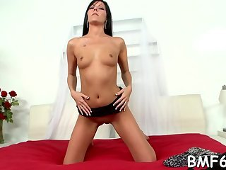 Doll get fucked in mouth