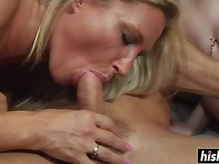 Lucky guy gets to fuck pretty babes