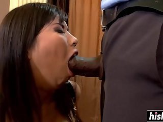 Black guy gets to fuck a hot girl