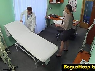 Euro patient pov banged by her doctor