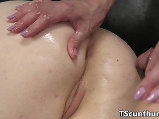 Alt TS babe pussyfucking submissive beauty
