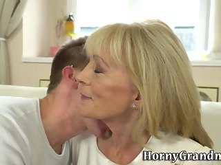 Pussy tasted granny cream