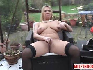 Big ass milf sex and cumshot