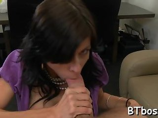 Stunner licked and fucked hard
