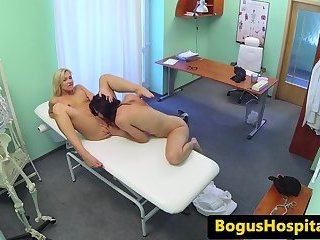 Real eurobabe fucked by horny doctor