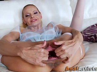 Mature sluts ass filled