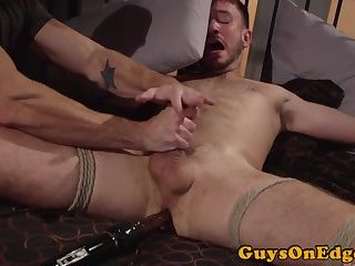 Dominated stud edged and anally toyed