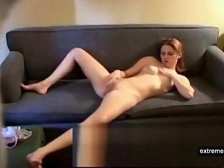 look at my masturbating stepsister
