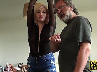 Bondage fetish submissive