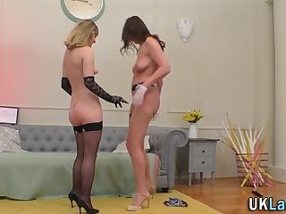 Stockings lesbians 69