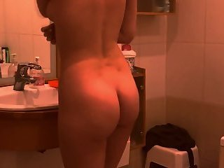 The ass of my sister 19 on spy camera