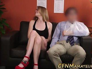 Cfnm spex slut sucking