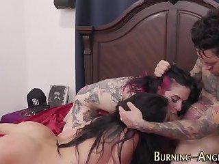 Kinky punks face spunked