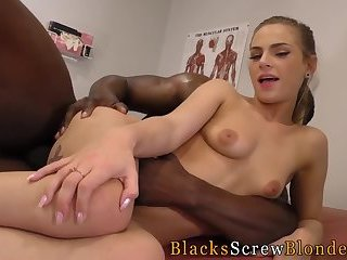 Teen rides black doctor