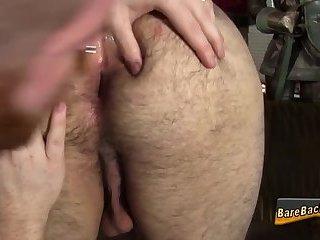 Chubby raw dawged bear