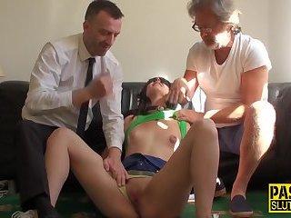 Bound fetish submissive